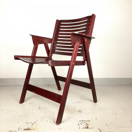 Mid-century plywood lounge chair Rex designed by Niko Kralj '50s Yugoslavia Folding Lounge Chair Modern MOMA
