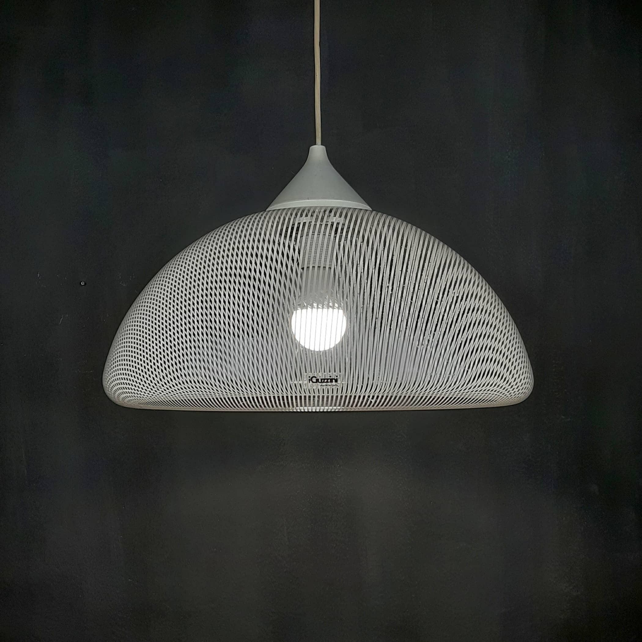 Retro pendant lamp iGuzzini Italy 1980s