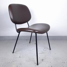Mid-century desk chair from Olivetti Arredamenti Metallici Italy 1960s