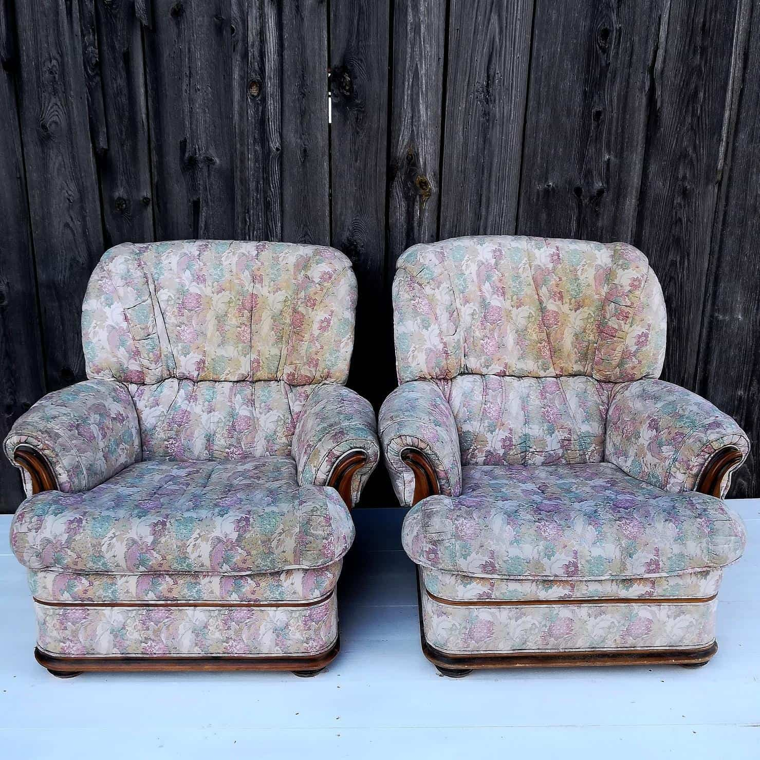 Two chairs tapestry