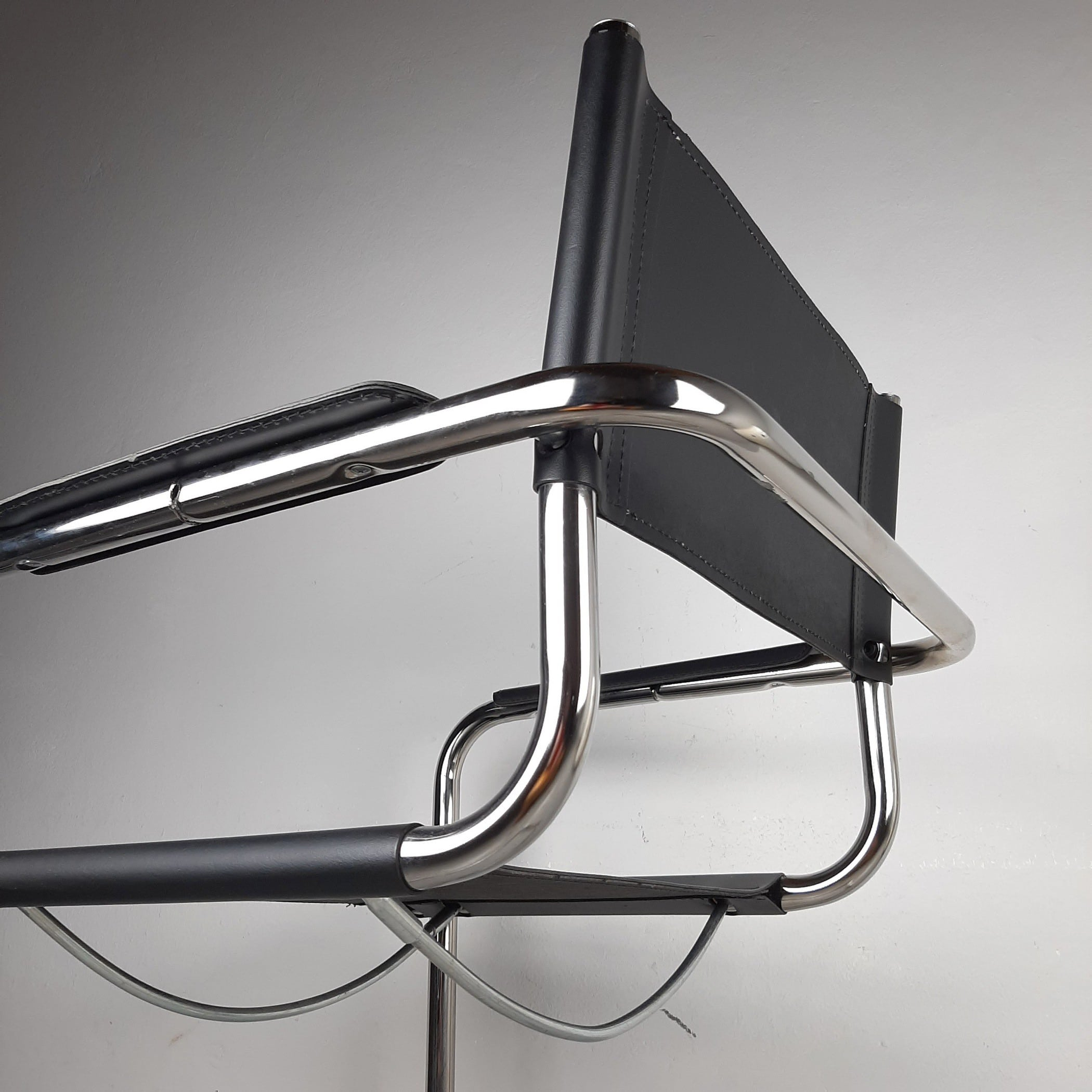Mid-century Office Chair Italy 1980s