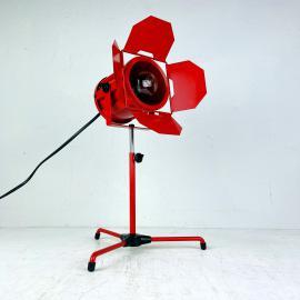 Retro adjustable spotlight table lamp Italy 1980s