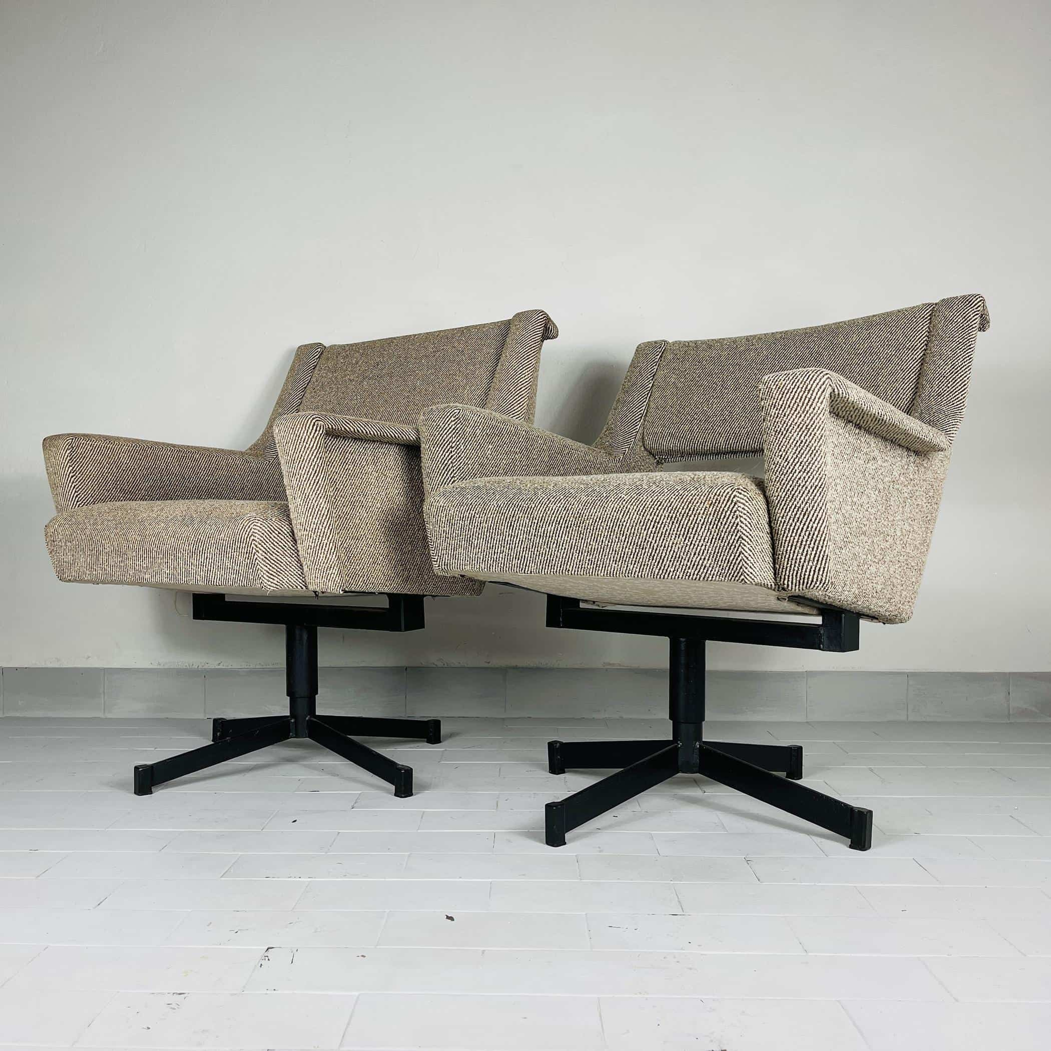 1 of 2 Mid-century lounge chair Yugoslavia 1960s