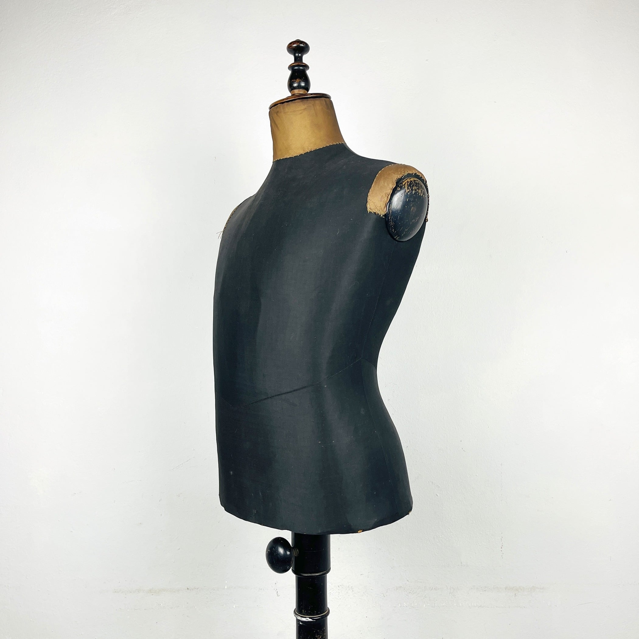 Antique man dress mannequin Austria 1930s shabby chic cottage home vintage tailor's dummy shop display dress form
