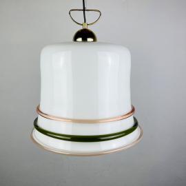 Vintage murano pendant lamp Italy 1970s