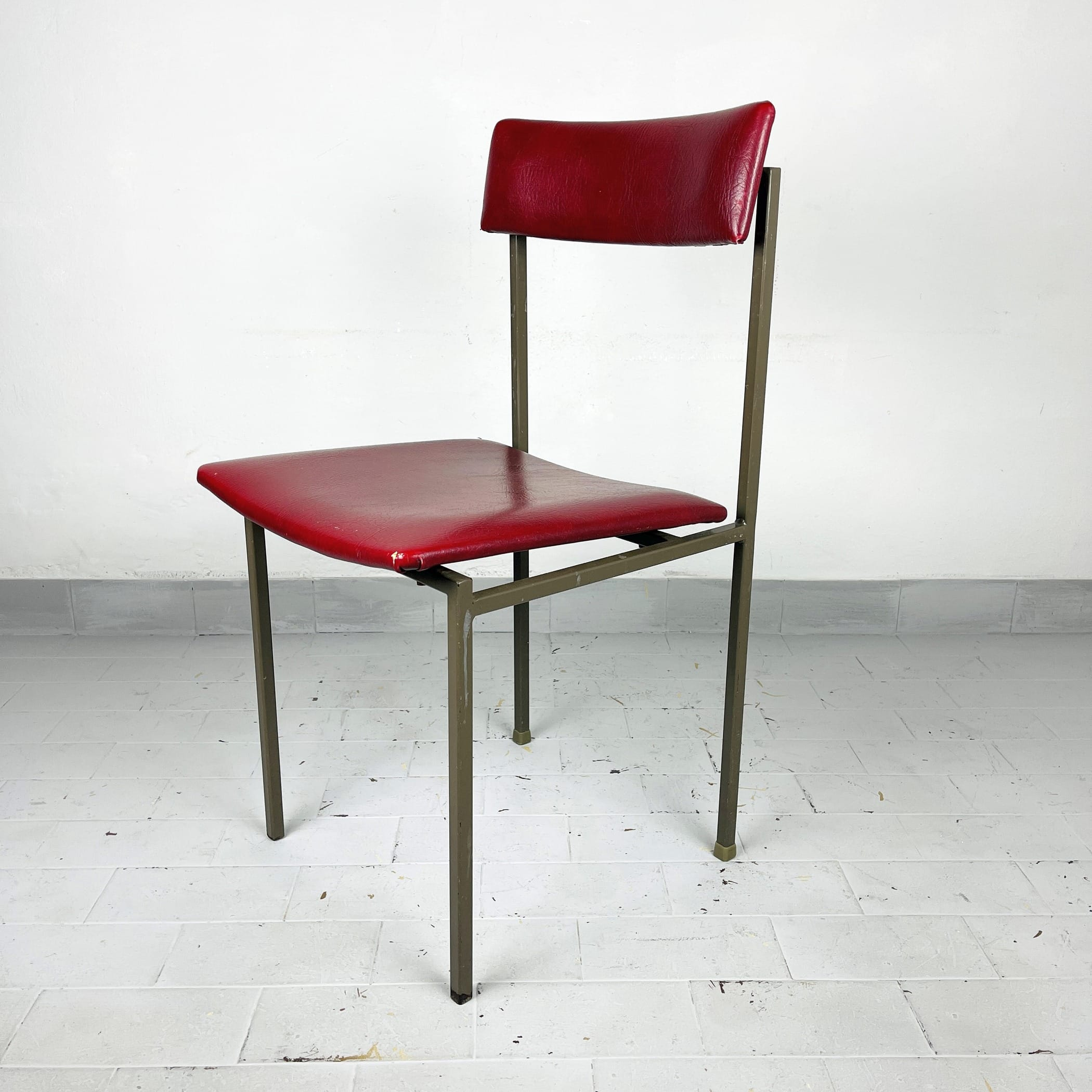 1 of 3 Mid-century dining chairs Stol Kamnik Yugoslavia 1970s Retro home office chair