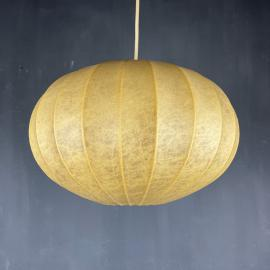 Mid-century cocoon pendant lamp Italy 1960s style Achille Castiglioni Modern