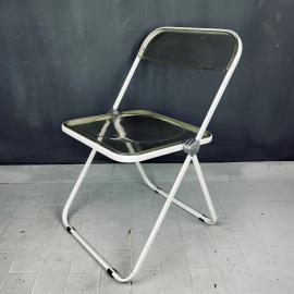 1 of 4 Plia folding chair by Giancarlo Piretti for Castelli Italy 1960s Italian modern Design Desk Chair diner chair