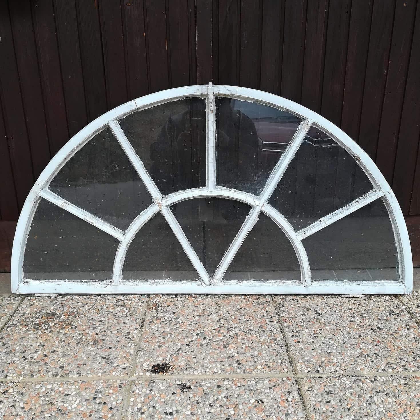 Half-round windows