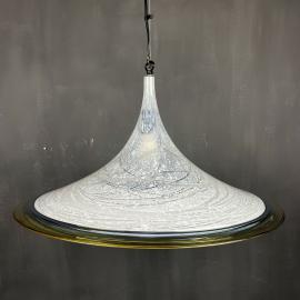 Murano pendant lamp Italy 1980s Mid-century italian light Vintage murano chandelier