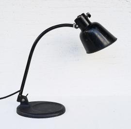 Vintage table lamp By Christian Dell Model 2768 Matador Bur 1930s Design Bauhaus Industrial black desk lamp