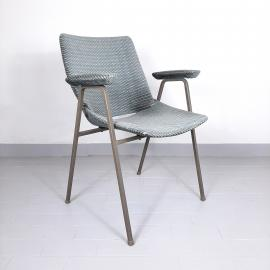 Mid-century plywood textil office chair 1970s by Niko Kralj Stol Kamnik Yugoslavia Retro Modern Desk Chair