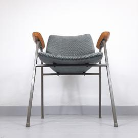 1 of 4 Mid-century Original Vintage Chair Lupina From Niko Kralj For Stol Kamnik 1970s Retro Lounge Chair Office Chair
