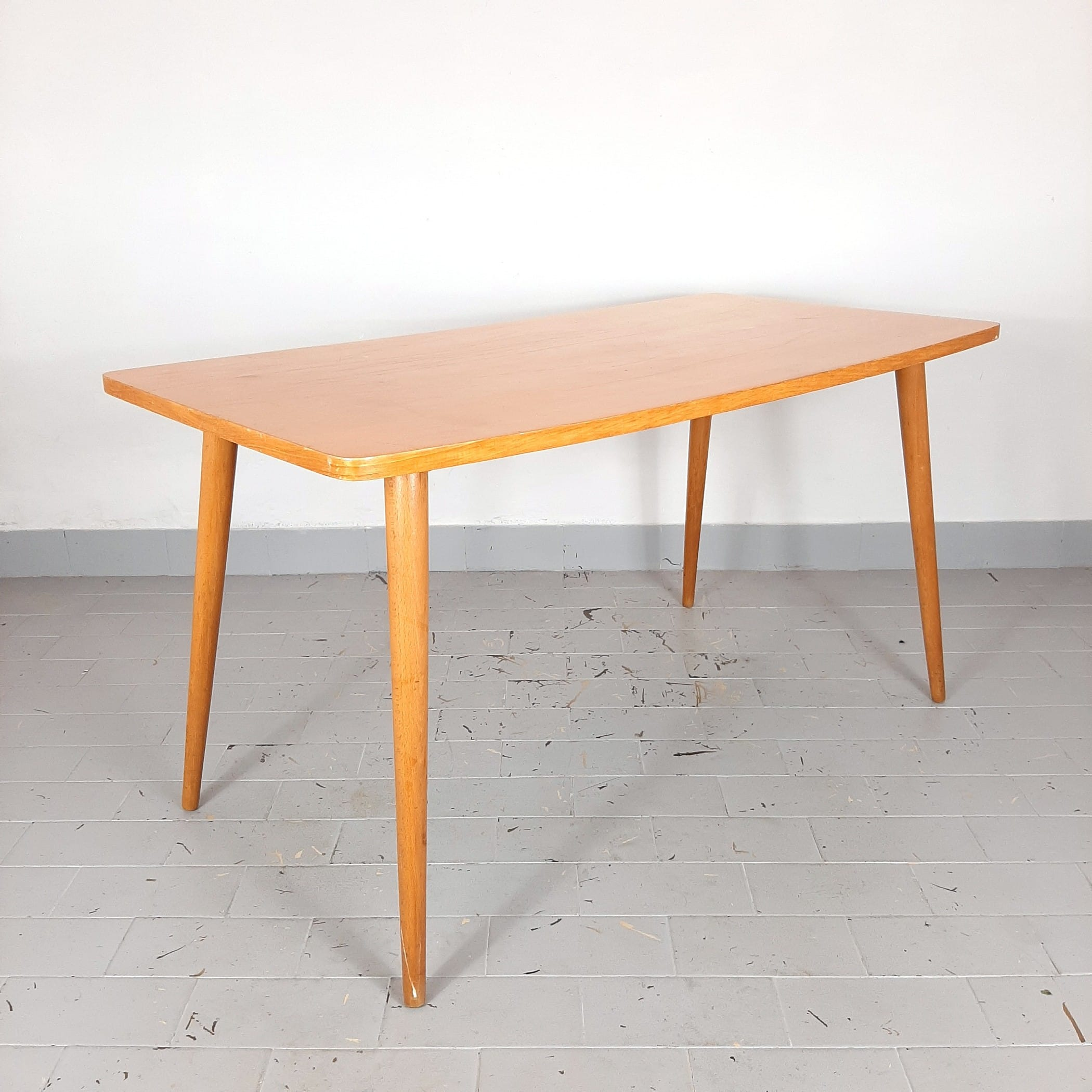 Mid-century coffee table Yugoslavia 1967 Vintage Modern Retro