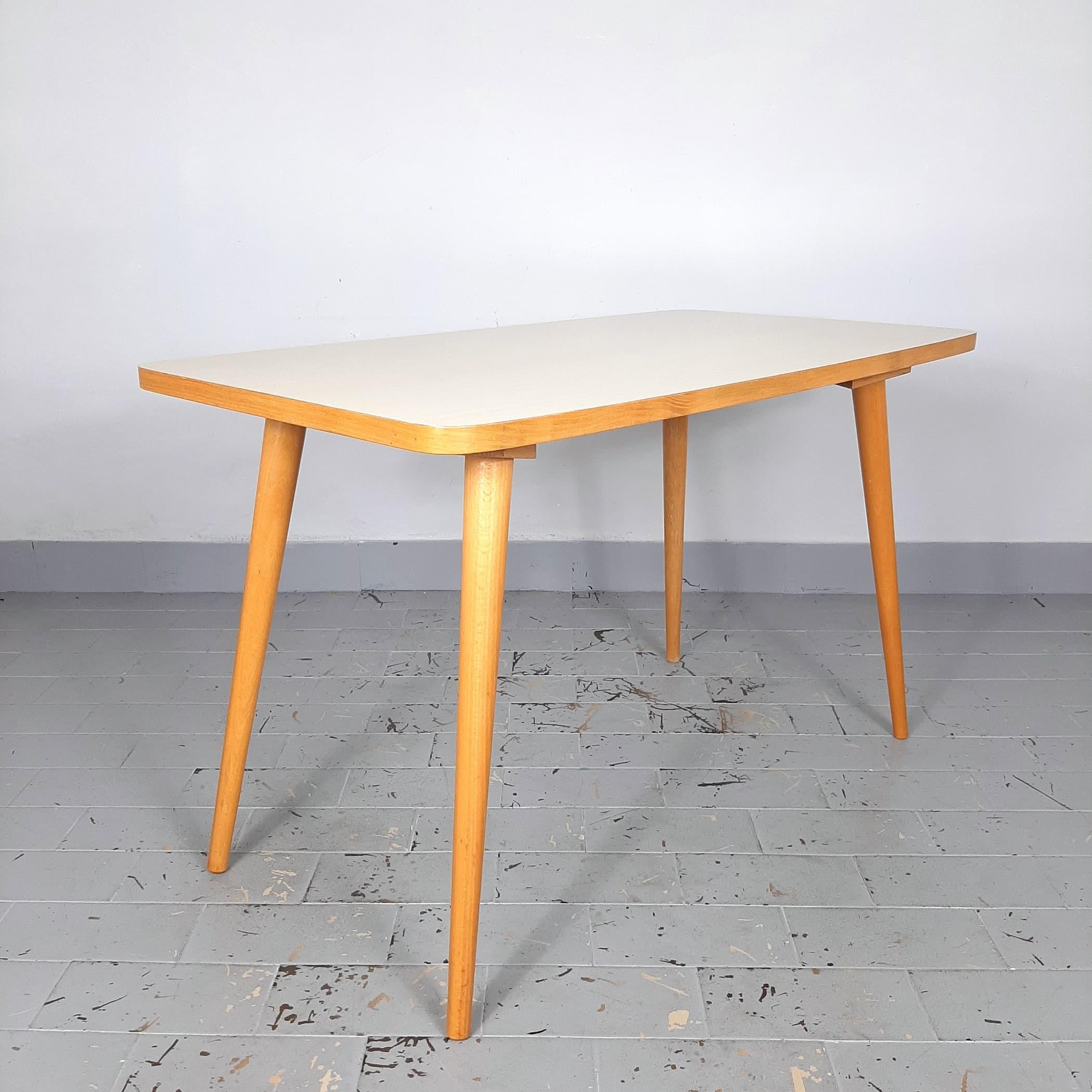 1 of 2 Retro coffee table Yugoslavia '60s MCM furniture vintage modern retro