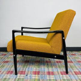 Mid-century lounge armchair Yugoslavia 1970s Vintage Coctail Armchair
