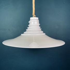 Mid-century murano pendant lamp Italy 1970s Space age Retro lighting