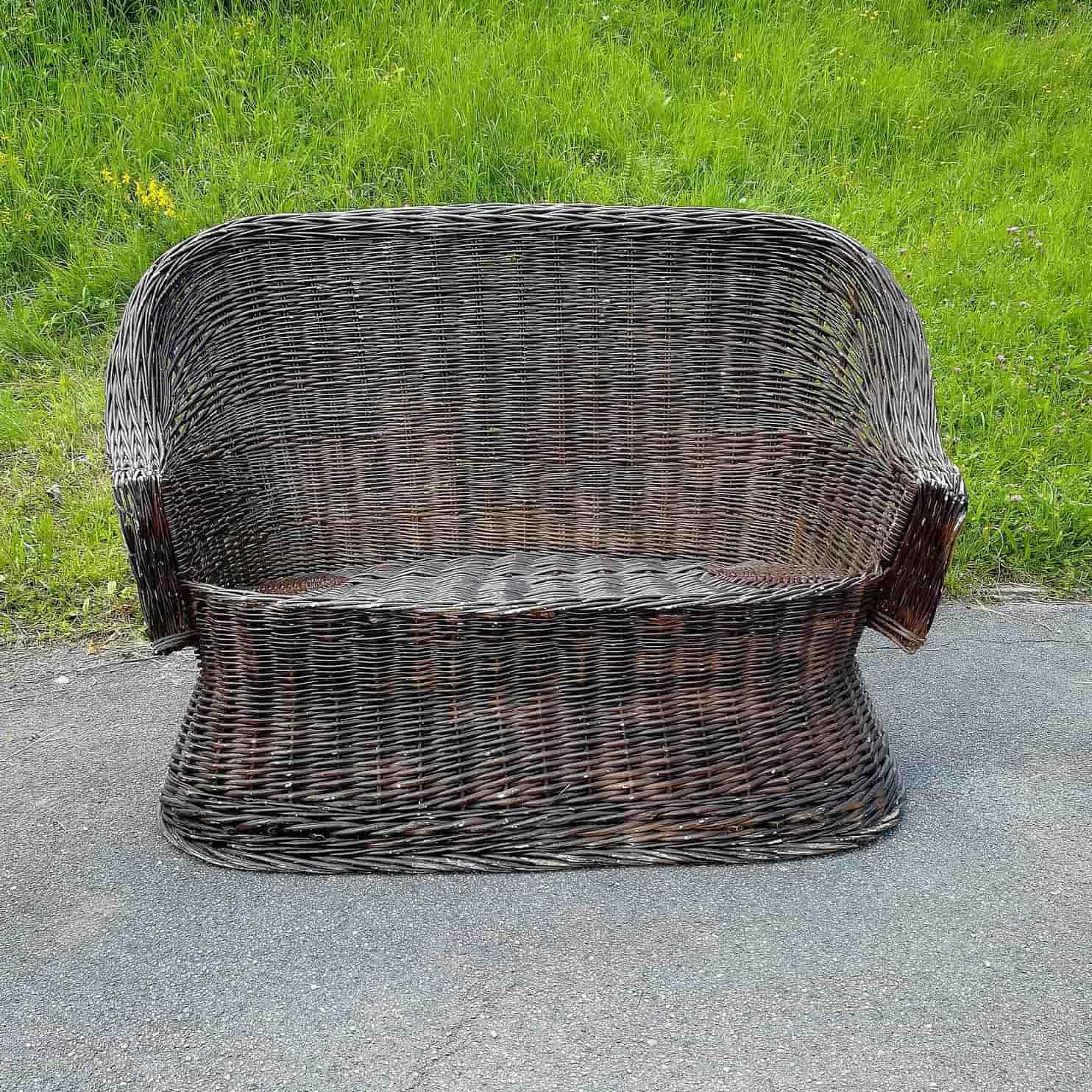 Wicker chair