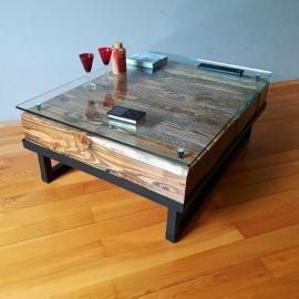 Loft-style club table
