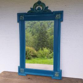 Old wooden mirror