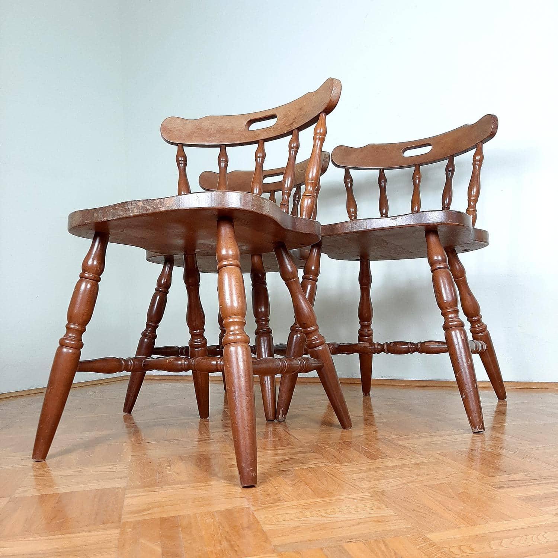 Old farm chair