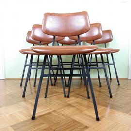Retro school chairs